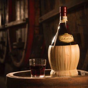 Vino rosso chianti DG toscano