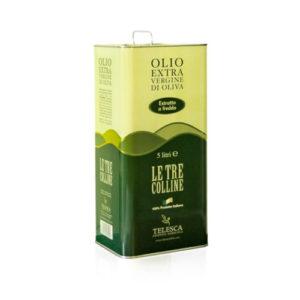Olio extravergine di oliva Le tre colline Lucania