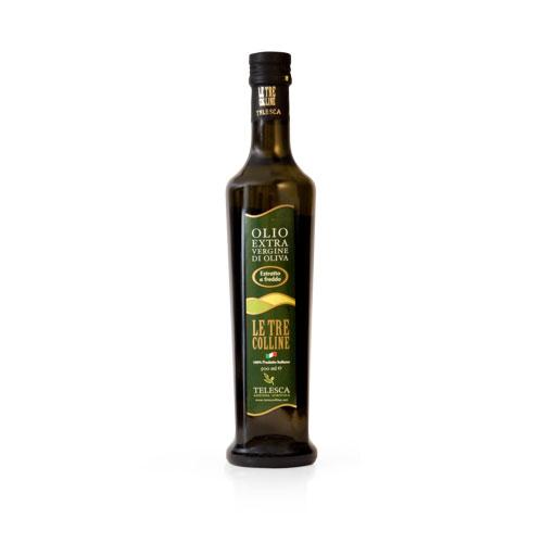 Olio extravergine di oliva 750ml della lucania