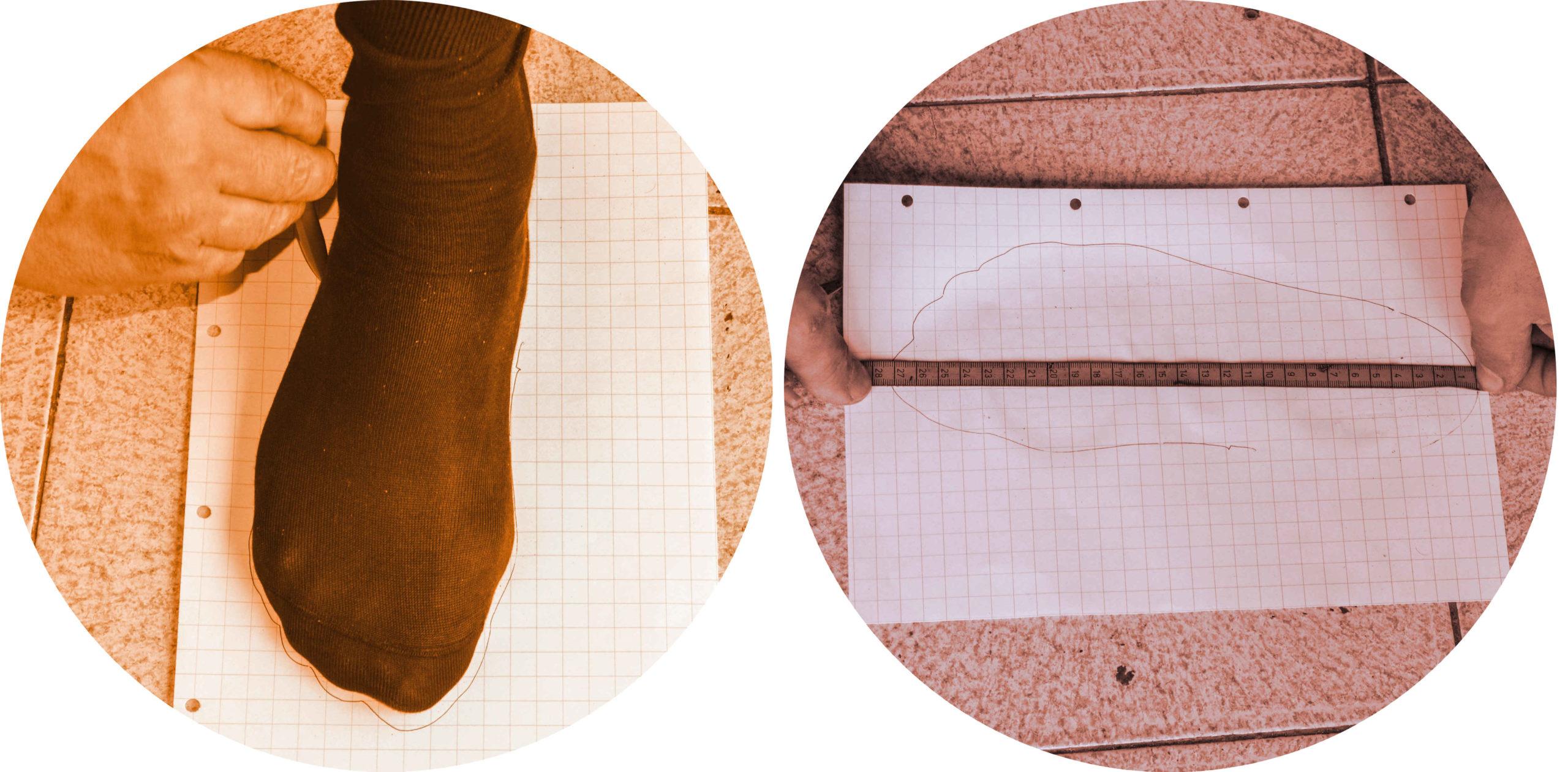 Procedura misure scarpe