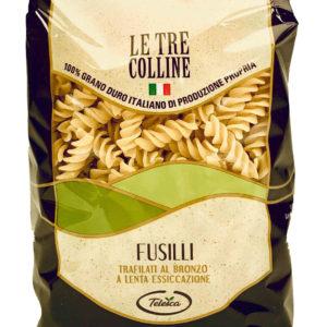 FUSILLI-Pasta di grano duro italiano di produzione propria