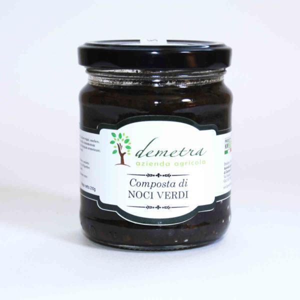 Composta di Noci verdi azienda Demetra Padula vallo di Diano