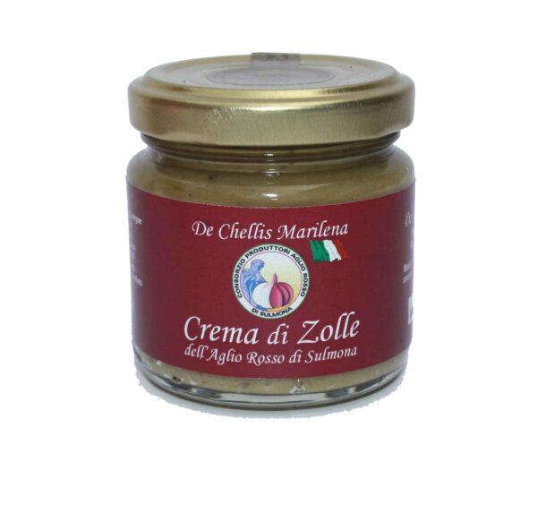 Crema di zolle aglio rosso di Sulmona il seme Peligno