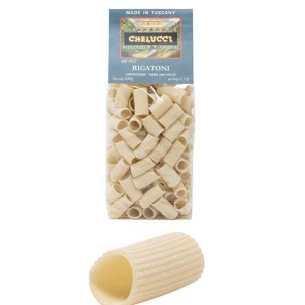 Rigatoni di grano duro pastificio Chelucci