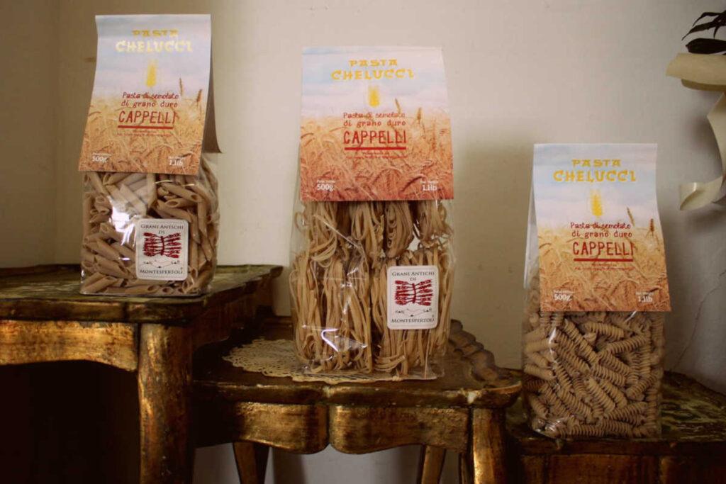 Pastificio chelucci Pasta di grano antico Senatore Cappelli