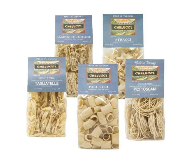Pici toscani paccheri stracci reginette toscane e tagliatelle