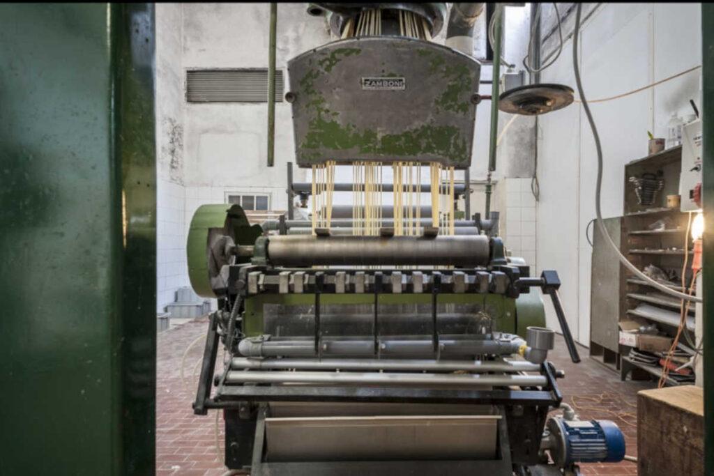 Pastificio chelucci macchina trafilatrice al bronzo