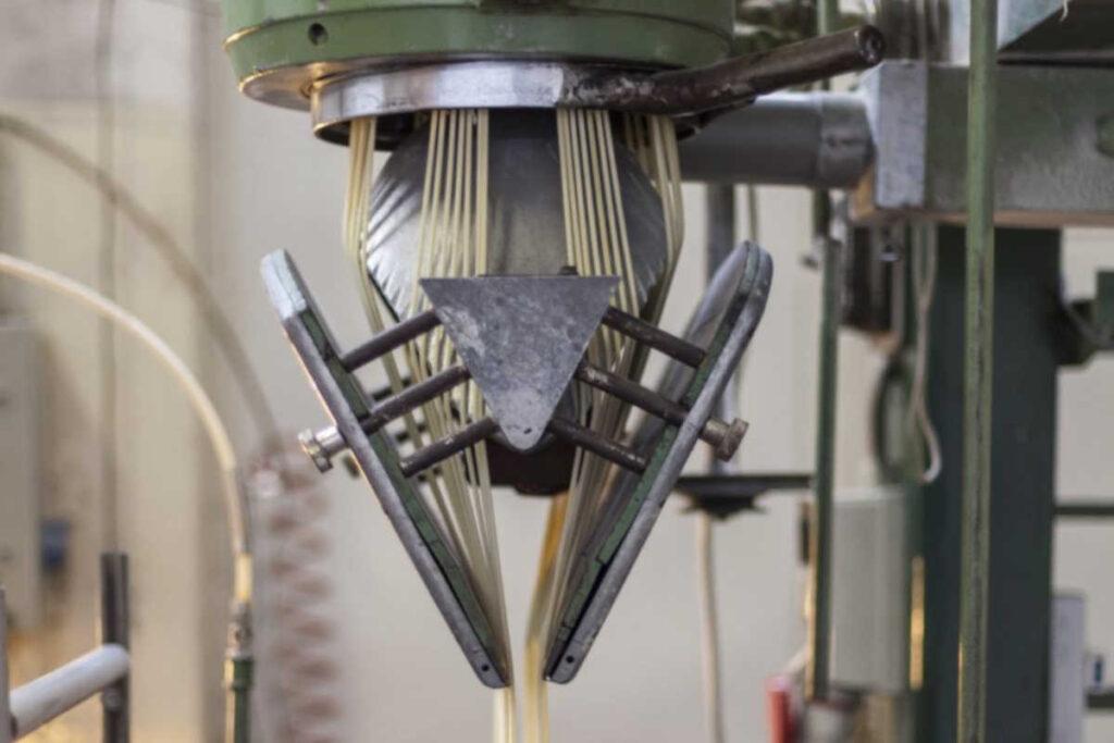 Pastificio chelucci macchina trafilatrice al bronzo per spaghetti