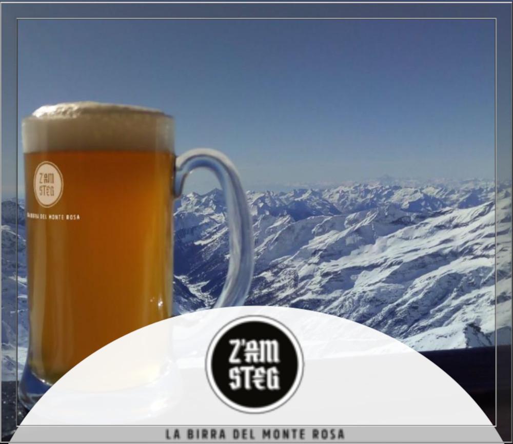 Z'AMSTEG La birra del monte Rosa