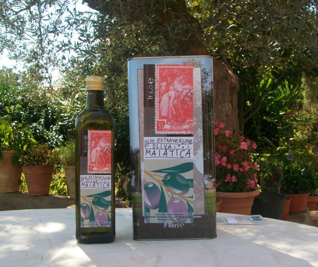 Frantoio CLAPS specializzato in olio extravergine di olive maiatiche