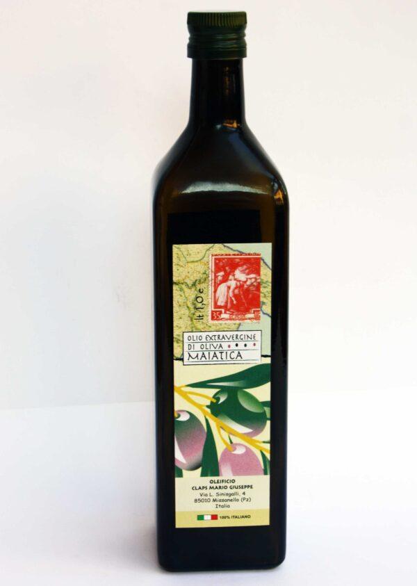 Frantoio CLAPS Olio extravergine di olive maiatiche 1000ml fronte