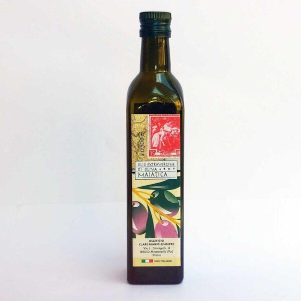 Frantoio CLAPS Olio extravergine di olive maiatiche 250ml frontale